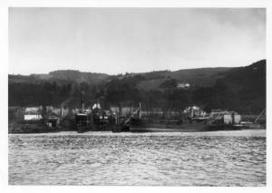 Scott & Sons Shipyard at Bowling, Glasgow (University of Glasgow archives)